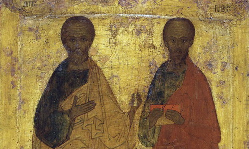 Апостолы Петр и Павел о душе