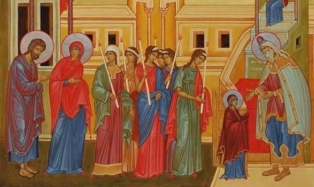 Вход во Храм Пресвятой Богородицы
