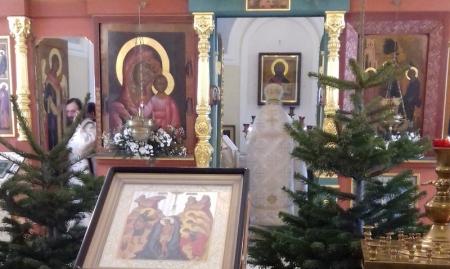 Пустынь Святого Духа Параклита. Рождество и Крещение. Год 2017.