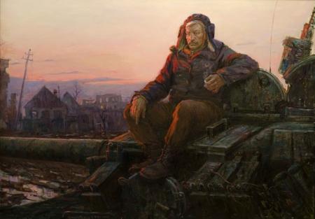 Алексей Крюков. Картины о Новороссии
